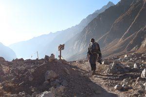 trekking del valle de langtang