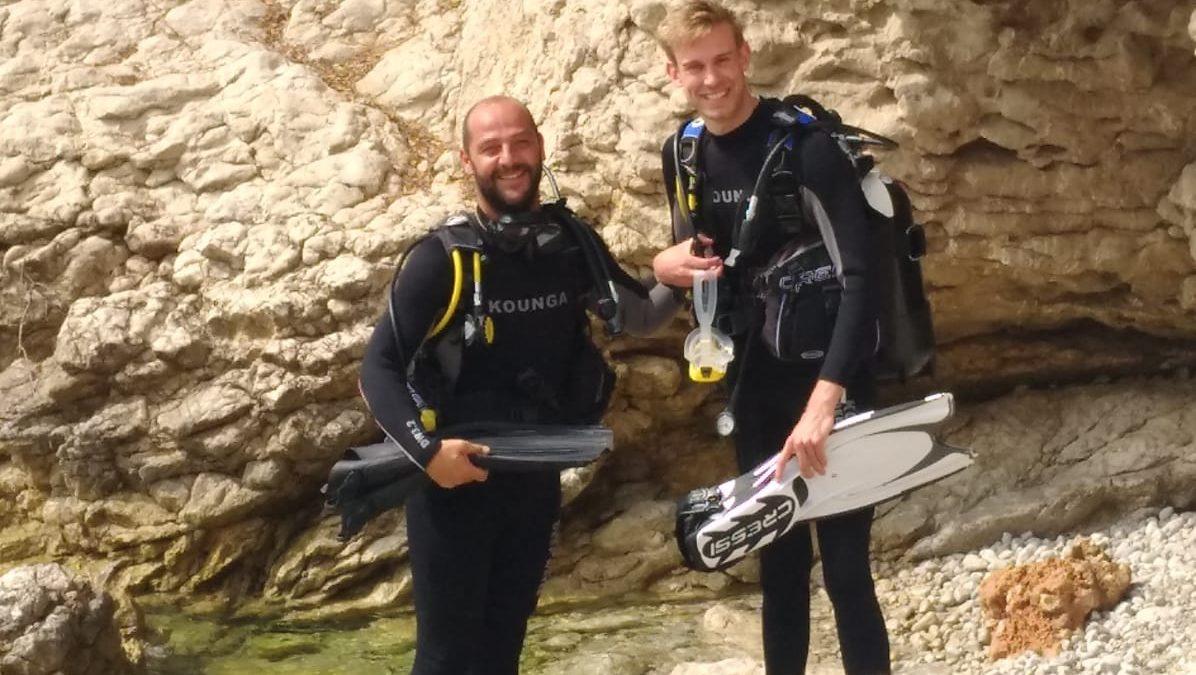 Amazing scuba dive!