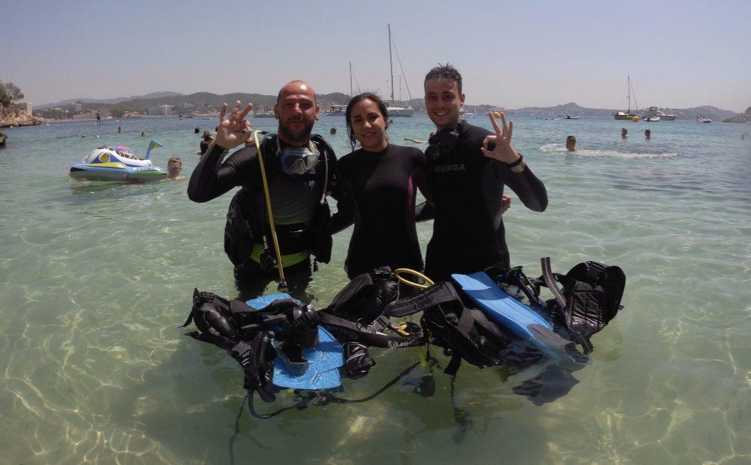Experiencia inolvidable bajo el agua
